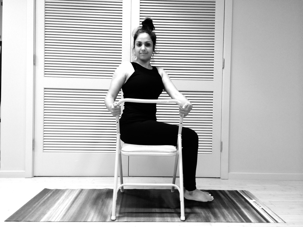 7 - Seated Spinal Twist